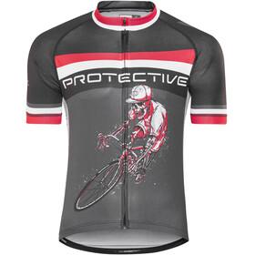 Protective Hell Rider Kortermede Sykkeltrøyer Herre Svart
